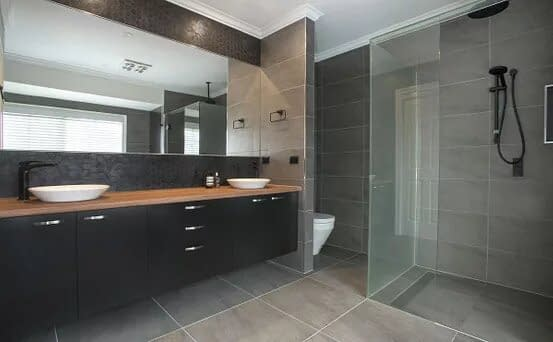 Bathroom renovations in Brunswick